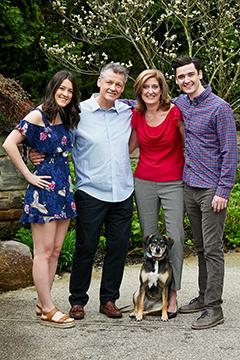 Teresa Kenny and family